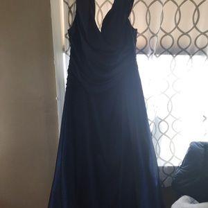 David bridal formal dress